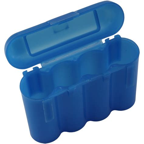aa battery storage container blue aa aaa battery battery plastic storage holder