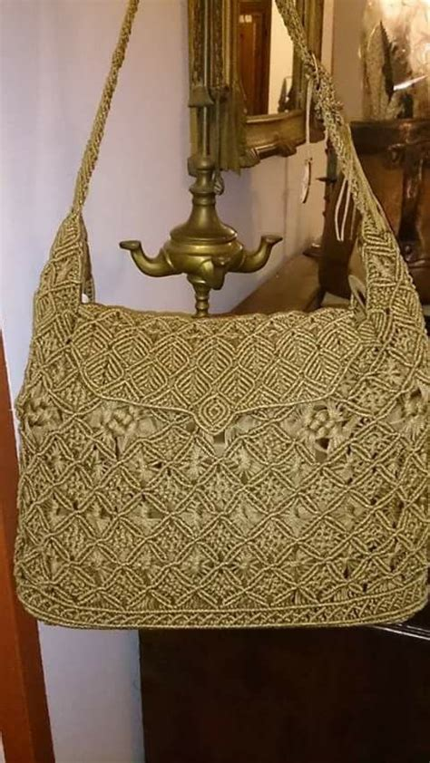 Macrame Bags Tutorials - 17 best images about macrame bag on tote purse