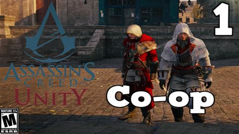unity tutorial co op assassins creed unity co op gameplay 720p xbox one