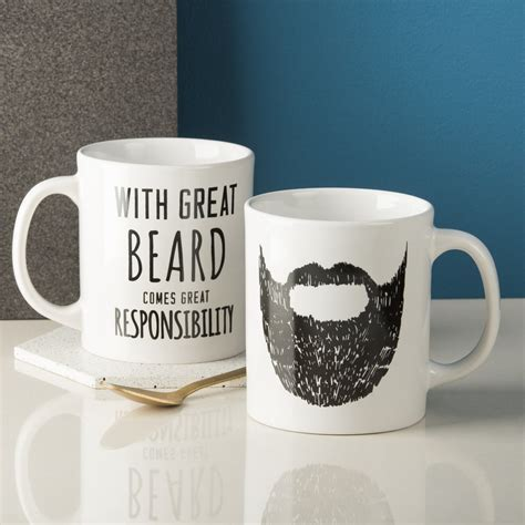 'Great Beard' Man Mug   oakdenedesigns.com