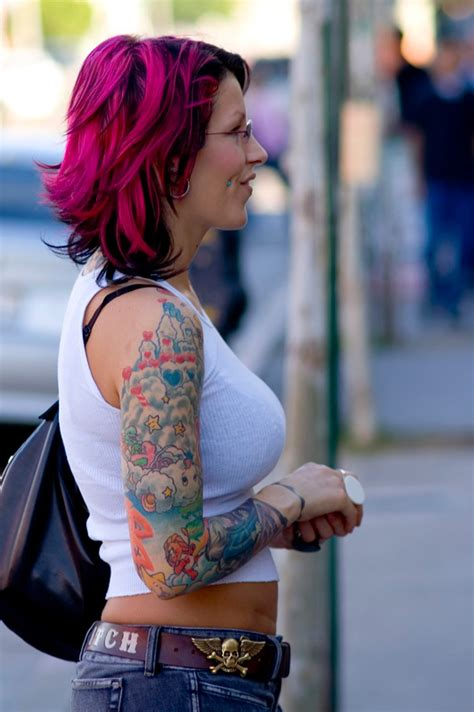 Tattoo Care La Ink | pixie acia tattoos pictures images pics photos of her tattoos