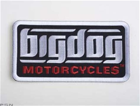 Motorcycle Apparel For Dogs by Logo Patch From Big Dog Motorcycle Apparel Collectibles 2010