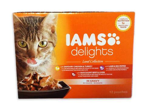 iams treats iams delights cat food