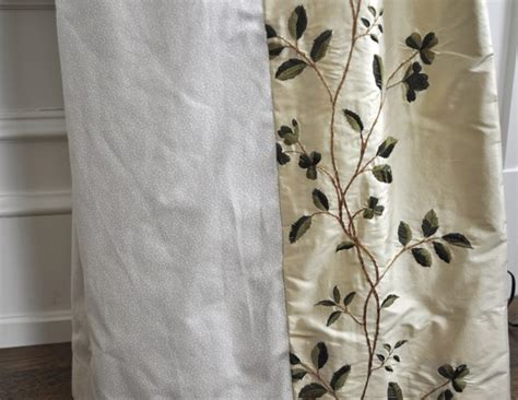 silk flower curtain sage floral silk curtain panels set of 4 the local vault