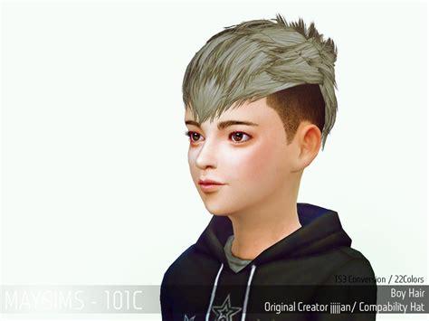 sims 4 child hair cc sims 4 hairs may sims may hair 101c
