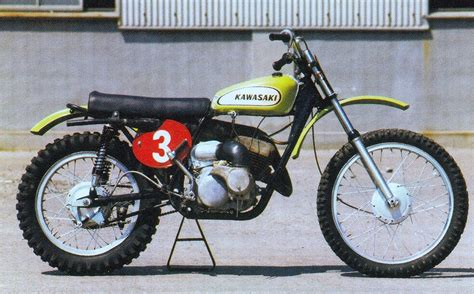 1970s motocross bikes here are some badass pics of early japanese works bikes