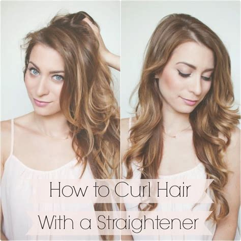 How To Curl Hair With Straighteners Flicks | 11 simple life changing ways to make doing your hair easy