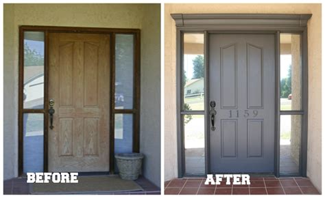 front door before and after how to decorate a front door pursuit of functional home