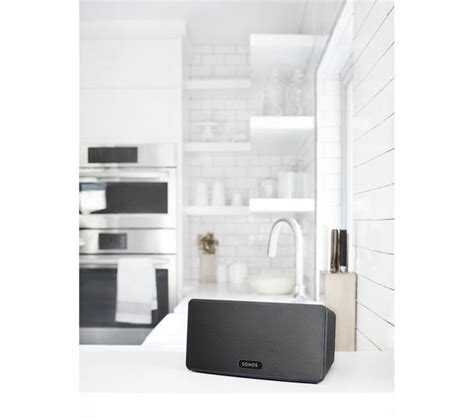 sonos multi room review buy sonos play 3 wireless smart sound multi room speaker black free delivery currys