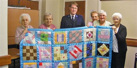 Patchwork For Busy Fingers - busy fingers donate patchwork quilt to salvation army