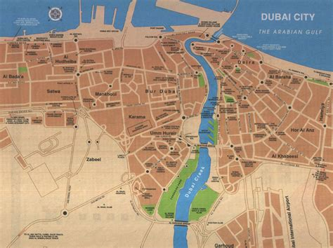 French Apartments by Large Dubai Maps For Free Download And Print High