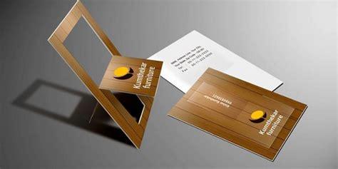 unique postcards stunning folded pop up business card design exles