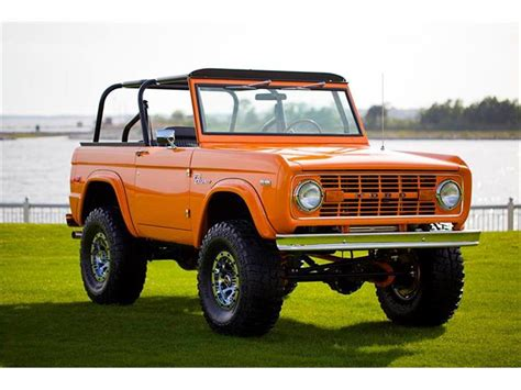 ford bronco 2017 1972 ford bronco classiccars com journal