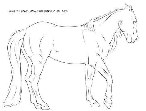 coloring pages of tennessee walking horses free lineart walking horse by imnotcrazy really on