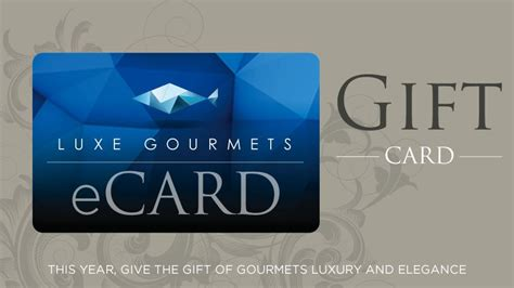 Popular E Gift Cards - send an e gift card luxe gourmets