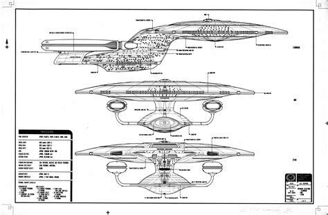 star trek uss enterprise d schematics image gallery ncc 1701 schematics