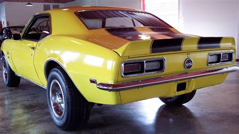 yellow 68 camaro car maximum 187 archive 1968 camaro for sale