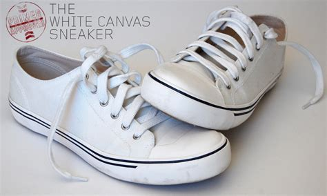 white canvas sneakers primer