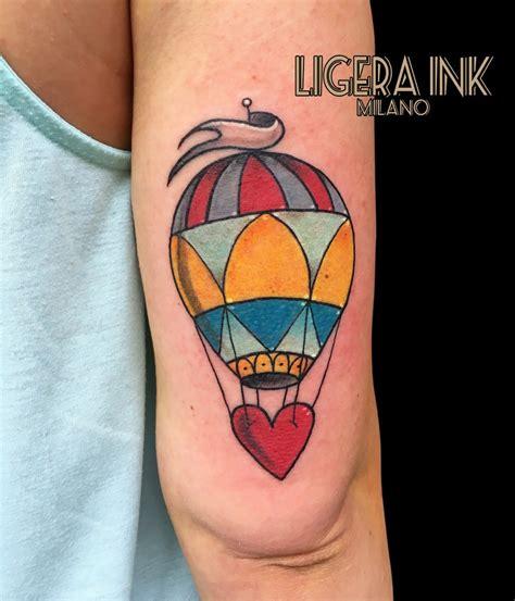 tattoo old school occhio tatuaggio mongolfiera significato e immagini ligera ink