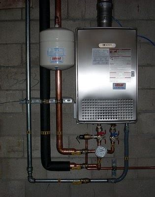 Ecosmart Plumbing by Nortiz Tankless Water Heater Installed By Ideal Plumbing