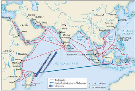 Pch Final Winner Selection List 2017 - map of indian ocean trade routes indian ocean trade pinterest student learning