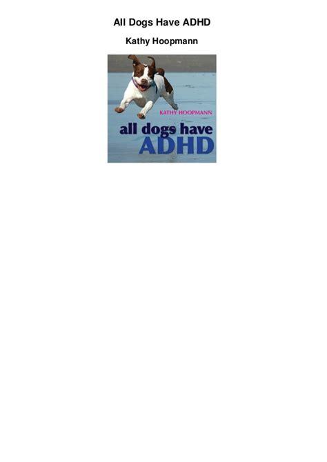 adhd in dogs all dogs adhd pdf