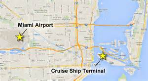 Car Rental Tampa Cruise Port Getting To The Miami Cruise Port Port Transportation