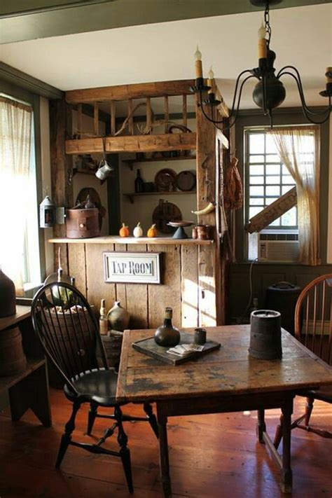 Primitive Dining Room Tables primitive country decor on pinterest primitives
