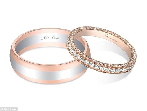 neil wedding bands the bachelor s lowe and catherine giudici s neil wedding rings daily mail