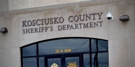 Kosciusko County Records Kosciusko County Sheriff S Department Inkfreenews