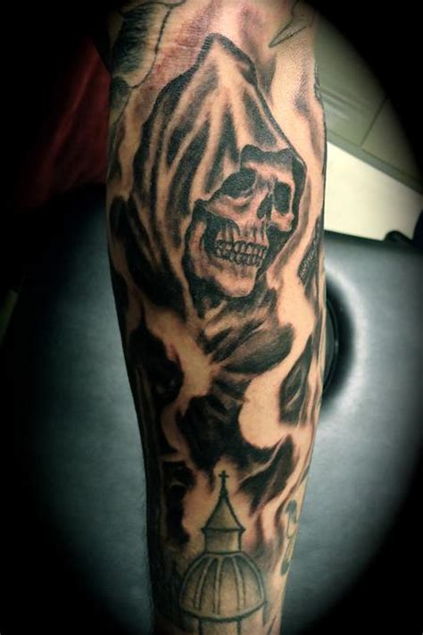 angel of death tattoo of