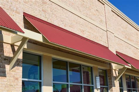 corrugated metal awning elite awnings 187 standing seam corrugated metal awnings