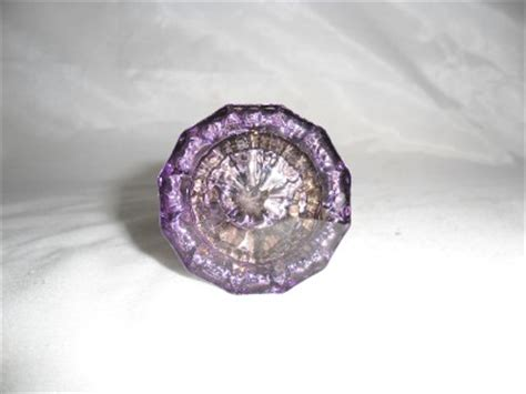 Purple Glass Door Knobs Antique Purple Amethyst Deco Glass Door Knob C1910 Ebay
