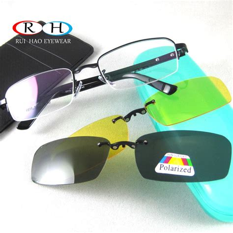 s glasses frame 2pcs magnetic clip on sunglasses eyewear frame optical eyeglasses frames spectacles frame