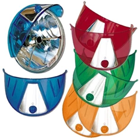 colored visors colored headlight visors