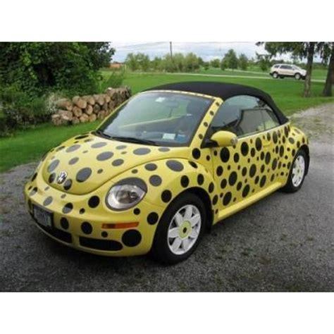 slug bug yellow bug wpolka dots  volkswagen beetle slug bug crazy vw bugs