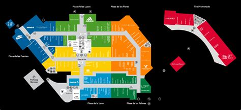 outlet mall map complete list of stores located at orlando vineland