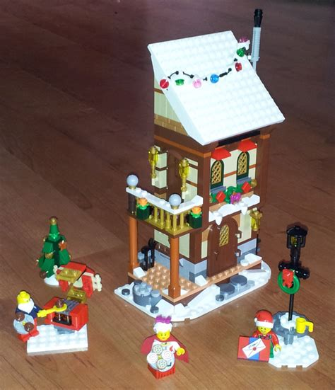 Moc: Winter Village Grandparents' House   LEGO Town   Eurobricks Forums
