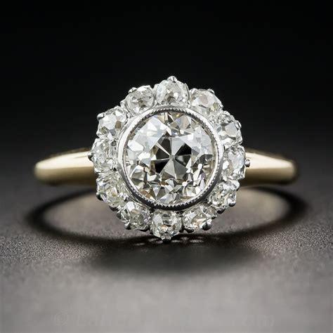 1 15 carat antique engagement ring j vs2