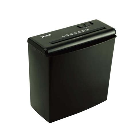 personal shredder buy texet personal shredder strip cut 6 5mm ref sc10n