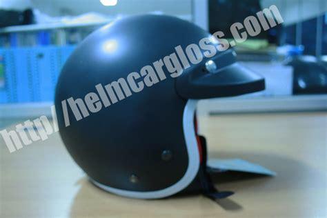 Helm Cargloss Retro Hitam Doff Pet helm retro army black doff helm motor