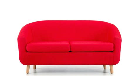 2 seater sofa red bombay 2 seater tub sofa red modern co uk