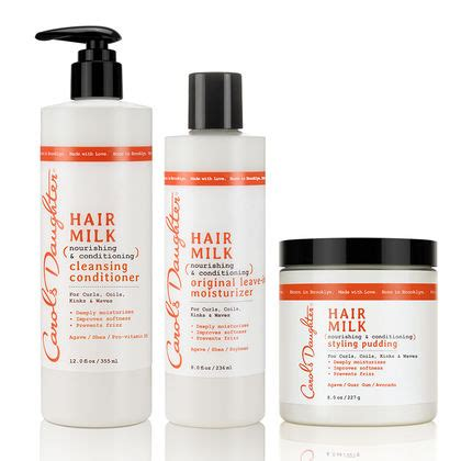 carols daughter natural hair care natural beauty hair milk deep moisture curl set best selling carol s