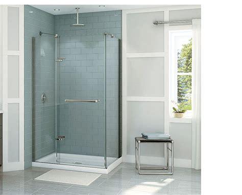 glass bathroom door brighten your bathroom using the single shower door glass 4 homes