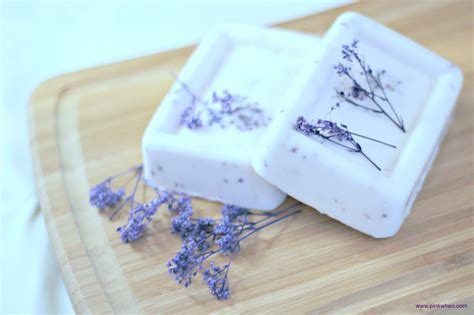 Handmade Lavender Soap Recipe - lavender soap recipe pinkwhen