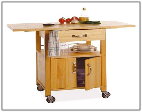 Small Portable Kitchen Island With Seating   Home Design Ideas