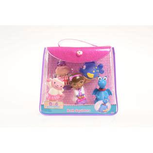 disney bath squirters set doc mcstuffins pink bag