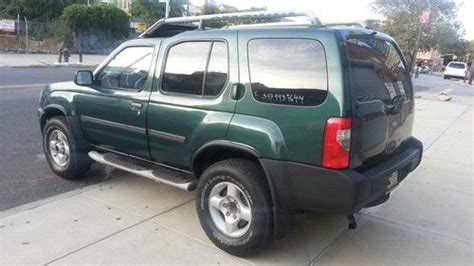 find used 2001 nissan xterra se sport utility 4 door 3 3l manual transmission no reserve in