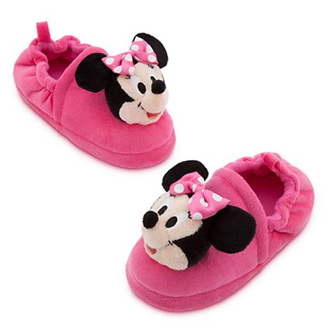 minnie mouse slippers disney authentic minnie mouse pink slippers size 9