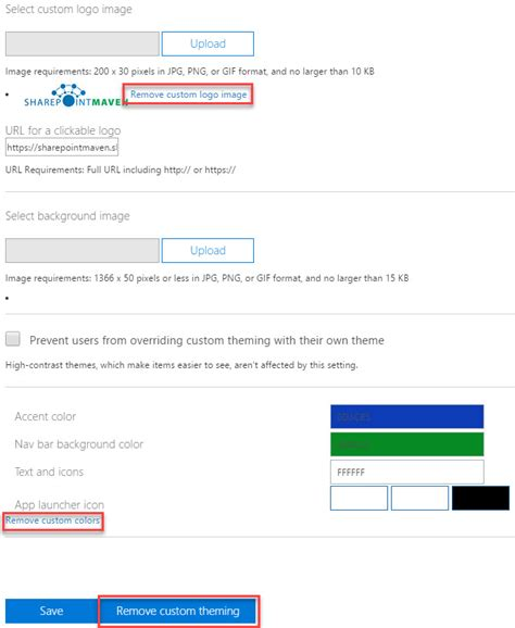 Office 365 Outlook Look And Feel How To Brand Sharepoint And Office 365 Out Of The Box